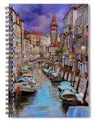 Quasi L'alba Spiral Notebook