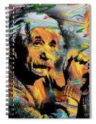 Albert Einstein.. - By Prar Spiral Notebook