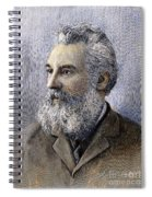 Alexander Graham Bell Spiral Notebook