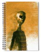 Alien Portrait Spiral Notebook