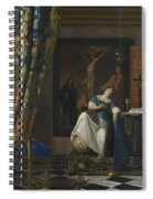 Allegory Of The Catholic Faith Spiral Notebook