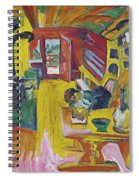 Alpine Kitchen Spiral Notebook