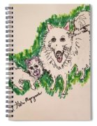 American Eskimo Dog Spiral Notebook