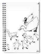 Andersen: Ugly Duckling Spiral Notebook