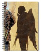 Angel Waiting Spiral Notebook