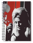 Angie Dickinson On Stage Number 2 Young Billy Young Set Old Tucson Arizona 1968-2013 Spiral Notebook