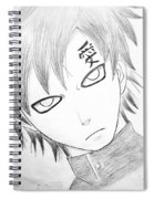 Anime Drawing  Spiral Notebook