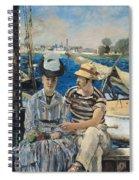 Argenteuil Spiral Notebook