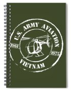 Army Aviation Vietnam Spiral Notebook