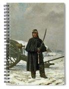 Artilleur De Faction Spiral Notebook