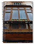 Artistic Architecture In Palma Majorca Spain Spiral Notebook
