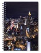 Atlanta Georgia - Evening Commute Spiral Notebook