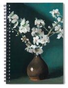 Australian Almond Blossom Spiral Notebook