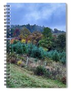 Autumn Colors In The Blue Ridge Mountains Spiral Notebook