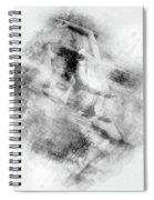 Ballerina Watercolor  Painting  Spiral Notebook