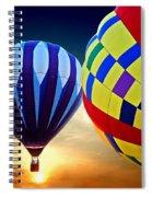 2 Balloons Spiral Notebook