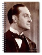 Basil Rathbone, Actor Spiral Notebook