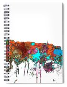 Basle Switzerland Skyline Spiral Notebook