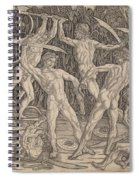 Battle Of The Nudes Spiral Notebook