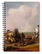 Battle Scene Spiral Notebook