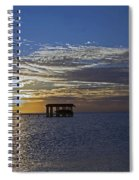 Bay Sunset Spiral Notebook