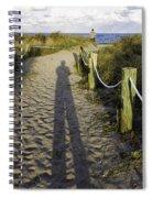 Beach Entry Spiral Notebook
