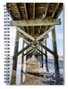 Beach Pier Spiral Notebook