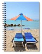 Beach Resort Spiral Notebook