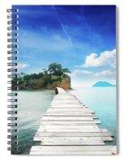 Agios Sostis Spiral Notebook