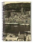 Beautiful Monte Carlo Spiral Notebook