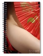 Beautiful Naked Woman Spiral Notebook
