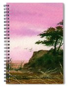 Beautiful Shore Spiral Notebook