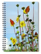 2 Bees Or Not 2 Bees Spiral Notebook