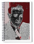 Benjamin Siegel Aka Bugsy Unknown Locale Or Date-2013 Spiral Notebook