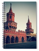 Berlin - Oberbaum Bridge Spiral Notebook