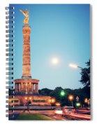Berlin - Victory Column Spiral Notebook