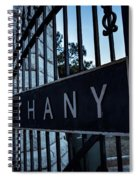 Bethany Cemetery Spiral Notebook