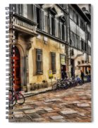 Bicycles In Florence Spiral Notebook