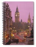 Big Ben London England Spiral Notebook
