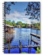 Big Daddy's Harbor Spiral Notebook