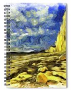 Birling Gap And Seven Sisters Art Spiral Notebook