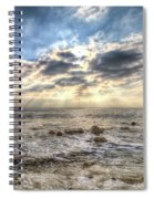 Birling Gap Angel Light Spiral Notebook