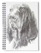 Black And Tan Coonhound Spiral Notebook