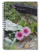 2 Blooms Spiral Notebook