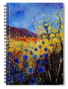 Blue Cornflowers Spiral Notebook