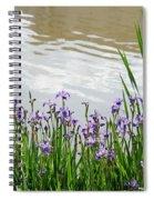 Blue Daffodils Spiral Notebook