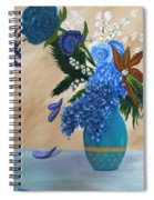 Blue Passion Spiral Notebook