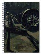 Bobbin Winder Spiral Notebook