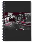 Bonnie And Clyde Death Car South Of Gibsland Toward Sailes Louisiana May 23 1933-2013 Spiral Notebook