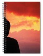 Borobudor Temple Spiral Notebook